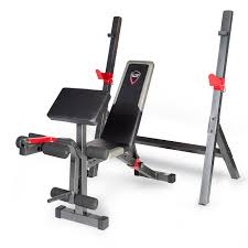 cap barbell strength olympic bench with preacher pad dual