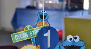 cookie monster table decorations first birthday party table decoration diy 17 best ideas about cookie