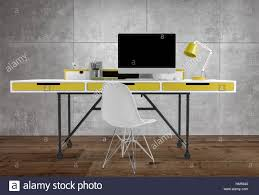 Office Table Back View Prepossessing 50 Office Desk Front View Decorating Design Of