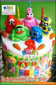 yo gabba gabba birthday cake3d cards 26 best sweet 16 3 images on biscuits decorated