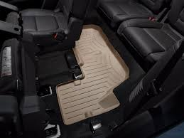 Ford Explorer Bucket Seats - weathertech floorliner for ford explorer w 2nd row console 2017