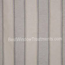 Linen Drapery Panels St Tropez Stripe Curtains Bestwindowtreatments Com