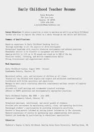 ece educator resume teacher resume examples example resume and