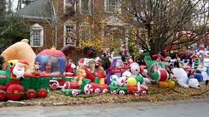Blow Mold Christmas Yard Decorations Amazing Design Inflatable Christmas Yard Decorations Amazon Com 5