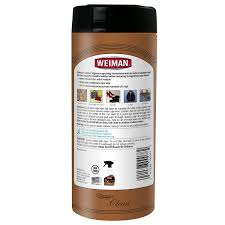 How To Get Ink Out Of Leather Sofa by Amazon Com Weiman Leather Wipes Cleaner U0026 Conditioner 30 Count