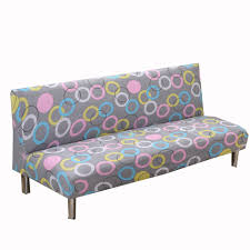 Crate And Barrel Patio Furniture Covers - universal armless couch sofa covers modern stretch sofa bed covers