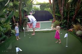 Backyard Golf Green by Putting Green Fun For The Family Without Leaving Home