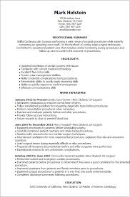 Good Summary Of Qualifications For Resume Examples by Professional Surgeon Templates To Showcase Your Talent