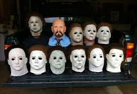 halloween mask collection 2014 by john r pleak youtube