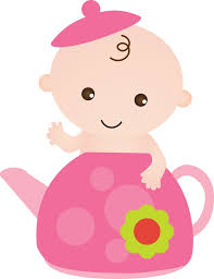 baby clipart cute pink baby carriage free clip art