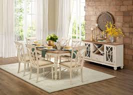 country dining room sets homelegance 5145w 78 azalea dining room set in antique white