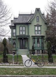 my style of house but on a much larger landscaped lot gothic