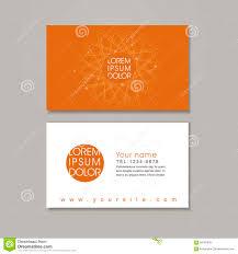 elegant business card design template stock vector image 56183030