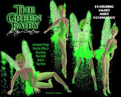 Green Fairy Halloween Costume Marketplace Green Fairy Packaged