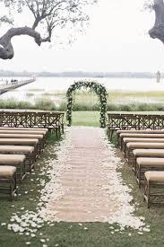 wedding arches decorated with burlap burlap wedding decor ideas weddingelation