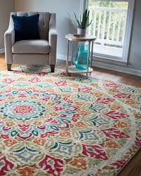 Design For Bathroom Runner Rug Ideas Outstanding Bright Multi Colored Rugs Rug Designs Inside Colorful