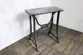 Industrial Work Table by Industrial Work Table With Marble Surface U2014 145 Antiques