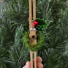 clothespin reindeer ornaments tutorial a bigger