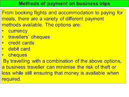 Indiana travellers cheques images Methods of payment on business trips from booking flights and jpg