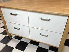 ikea varde kitchen unit with 3 stainless steel drawers for sale in