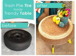 How To Use Old Tires For Decorating 7 Unique Ways To Recycle Old Tires Into Something Amazing