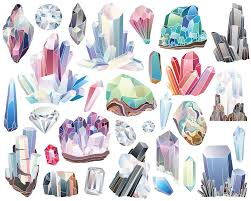 diamond clipart crystals diamonds and minerals clipart 29 300 dpi vector u0026 png