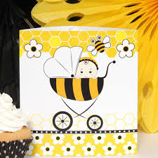 bee baby shower bumble bee baby shower decorations