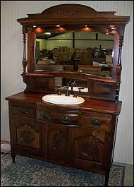 Antique Bathroom Vanity by Vintage Bathroom Sink And Mirror Antique Bathroom Vanity