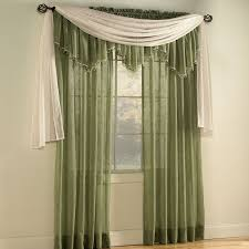 Crushed Sheer Voile Curtains by Window Treatments Home Classics Crushed Voile Sheer Curtains