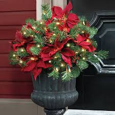 Outdoor Christmas Decorations Urns by The 25 Best Christmas Urns Ideas On Pinterest Outdoor Christmas