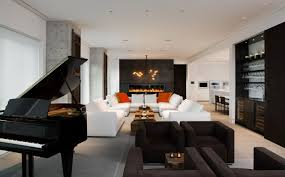 classic modern living room has elegant and luxurious models with