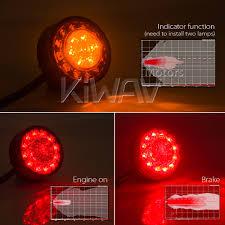 how to make custom led tail lights lights indicators motorcycle led round tail light brake light