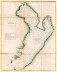 Broadchurch England Map by 1855 U S Coast Survey Nautical Chart Or Map Of Tampa Bay Florida