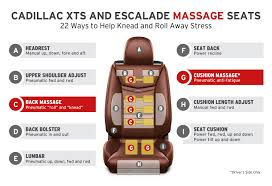 Ventilated Car Seats The Backstory Of Cadillac U0027s New Massage Chairs