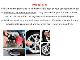 Diy Interior Car Detailing Importance Of Auto Detailing