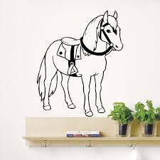 compare prices horse decals online shopping buy low price wall decals horse cowboy animal decal nursery room bedroom decor vinyl china mainland