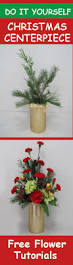 christmas table centerpieces easy step by step flower tutorials