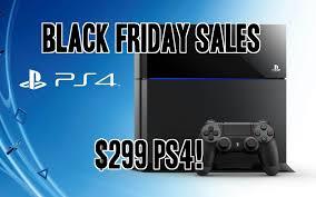 playstation 4 black friday console bundles and digital