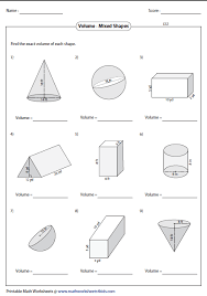 volume worksheet pdf fts e info