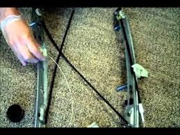 renaut megane ii front left window regulator repair youtube