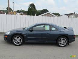 mitsubishi eclipse coupe steel blue pearl 2004 mitsubishi eclipse gt coupe exterior photo