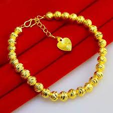 gold beads bracelet images Gold bracelet female models do not fade transport bead bracelets jpg