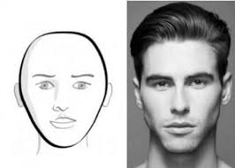 hair cut for high cheek bones image result for high cheekbones male black and white character