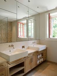 Mirror On Mirror Bathroom Make Your Bathroom Look With A Bathroom Wall Mirror In Decors