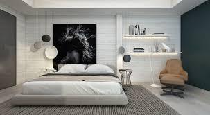 chambre contemporaine design chambre contemporaine 33 idées déco murale design
