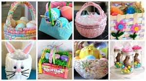 diy easter basket diy easter baskets that are cute and fun to make