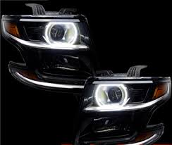 2017 chevy tahoe fog light kit 2015 chevy tahoe square style plasma halo headlight light kit by