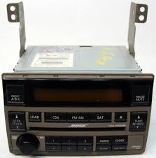 nissan altima 2005 aux installation 2005 2006 nissan altima factory stereo bose 6 disc changer cd