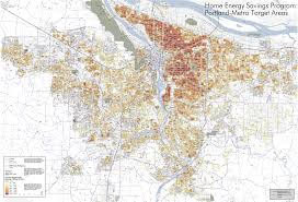 Portland Oregon County Map by Portland State College Of Urban U0026 Public Affairs Population