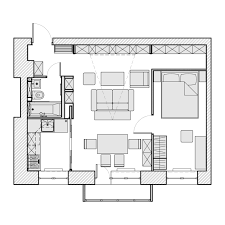 floor plans for flats 3 beautiful homes under 500 square feet